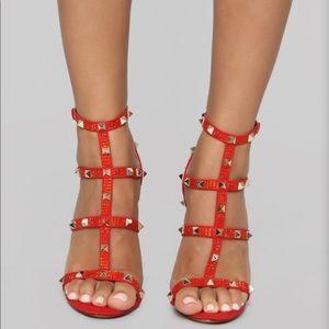Never worn! Red Heels